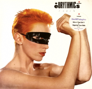 Eurythmics ‎- Touch (LP) (VG-/VG+)